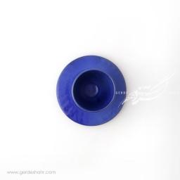 فنجان نعلبکی آبی سرمه ای ماه فروز محصولات