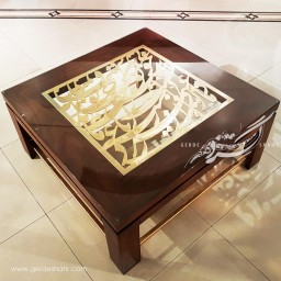 میز مربع کالیگرافی نماد محصولات