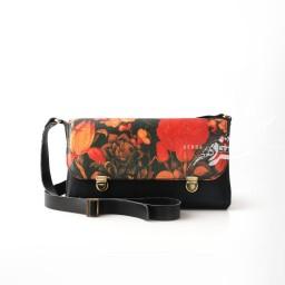 کیف باغ ایرانی چرم نیکو گنجه رخت