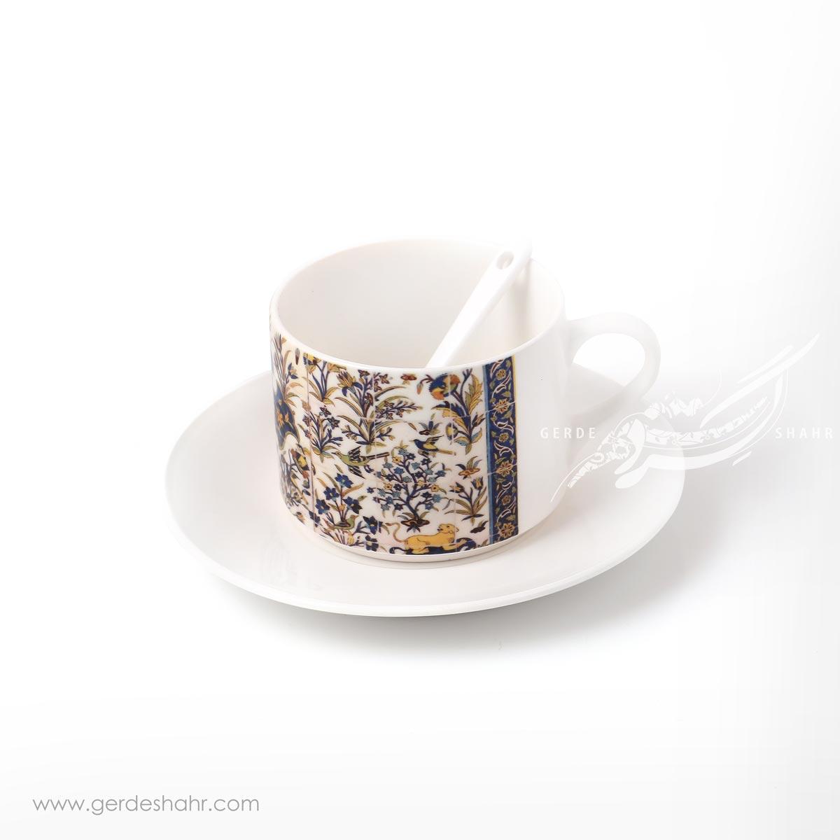 فنجان نعلبکی طرح کاشی 2 پیکتومن محصولات