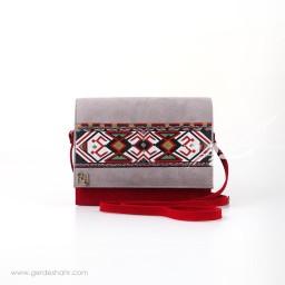 کیف دوشی ارغوان رد گنجه رخت