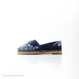 کفش نقره آبی رد گنجه رخت