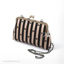 کیف بنددار خط و برگ راژانه گنجه رخت