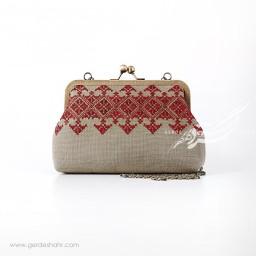 کیف بنددار گل پارسی راژانه گنجه رخت