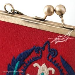 کیف بنددار قرمز تک انار راژانه گنجه رخت