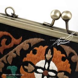 کیف بنددار مشکی بهشت راژانه گنجه رخت