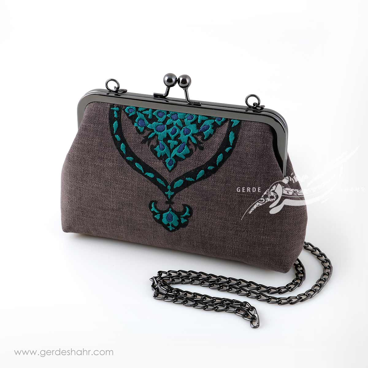کیف بنددار دودی طاووس راژانه گنجه رخت