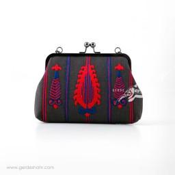 کیف بنددار دودی سرو سرخ راژانه-rajane
