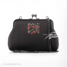 کیف بنددار دودی نقش باغچه راژانه-rajane