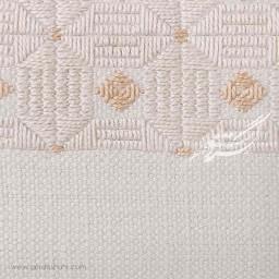 کیف بند دار سفید هندسی راژانه-rajane