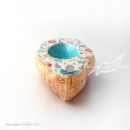 مجسمه سنگی بیضی حوض نقاشی راستین محصولات