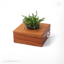 گلدان چوبی کومه ریتون