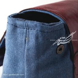 کوله پشتی سورمه ای طرح 2 صبری گنجه رخت