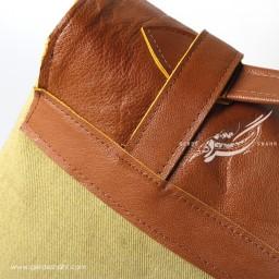 کوله پشتی سبز روشن طرح 3 صبری گنجه رخت