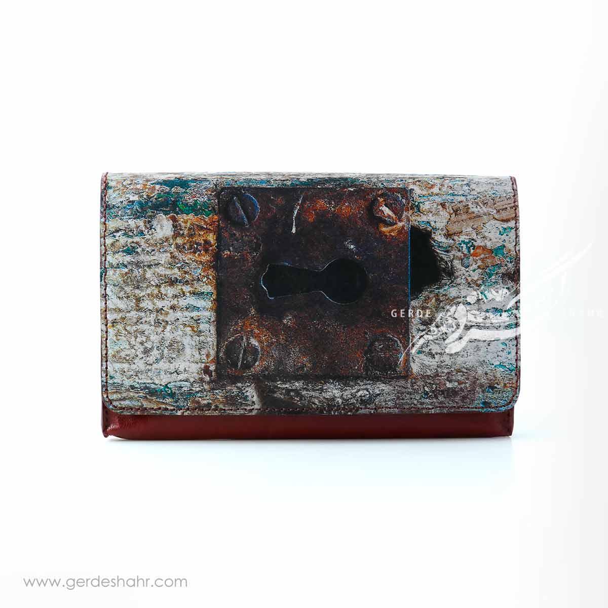 کیف چرمی دستی شباویز صُره گنجه رخت