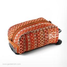 چمدان گلیم سوزندوزی طرح ۱ سان ست گنجه رخت
