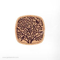 زیرلیوانی 6 عددی مربع درخت امید محصولات