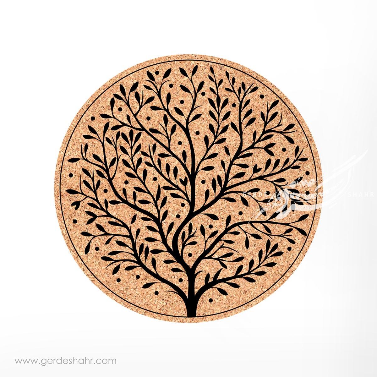 زیرقابلمه ای دایره درخت زندگی محصولات