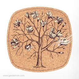 زیرقابلمه ای مربع 30 درخت مگنولیا محصولات