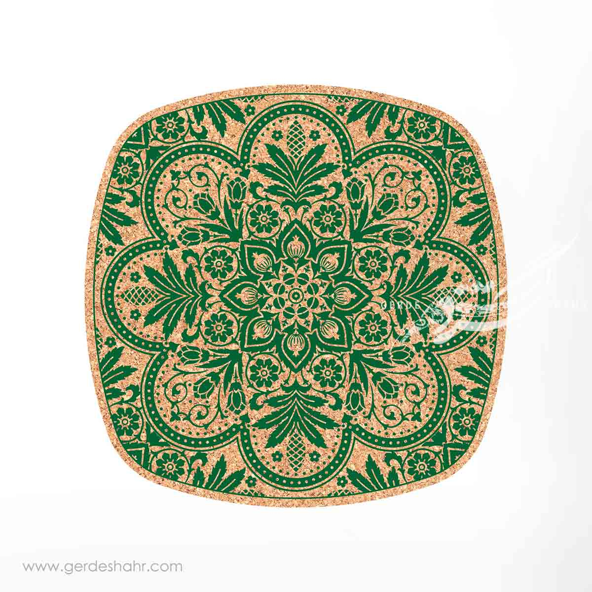 زیرقابلمه ای مربع ۲5 حوض ایرانی سبز محصولات