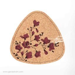 زیرقابلمه ای مثلث 25 گل مگنولیا گلبهی محصولات