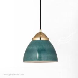 آویز روشنایی گنبد ایرانی فیروزه ای کوچک تیروژ محصولات
