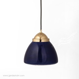 آویز روشنایی گنبد ایرانی لاجوردی کوچک تیروژ محصولات