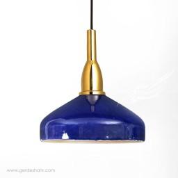 آویز روشنایی گردسوز لاجوردی بزرگ تیروژ محصولات
