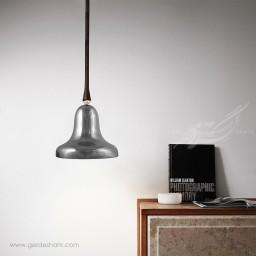 مشخصات، قیمت و خرید اینترنتی چراغ آویز سرامیکی زنگوله نقره ای بزرگ تیروژ