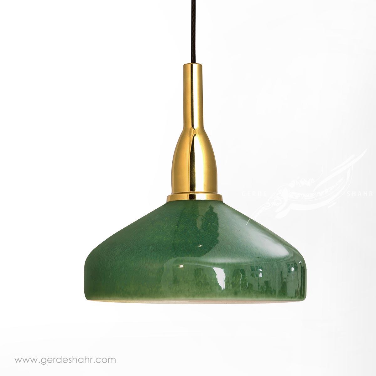 آویز روشنایی گردسوز سبز بزرگ تیروژ محصولات