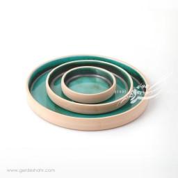 مجموعه بشقاب سبز احیایی زین دست محصولات