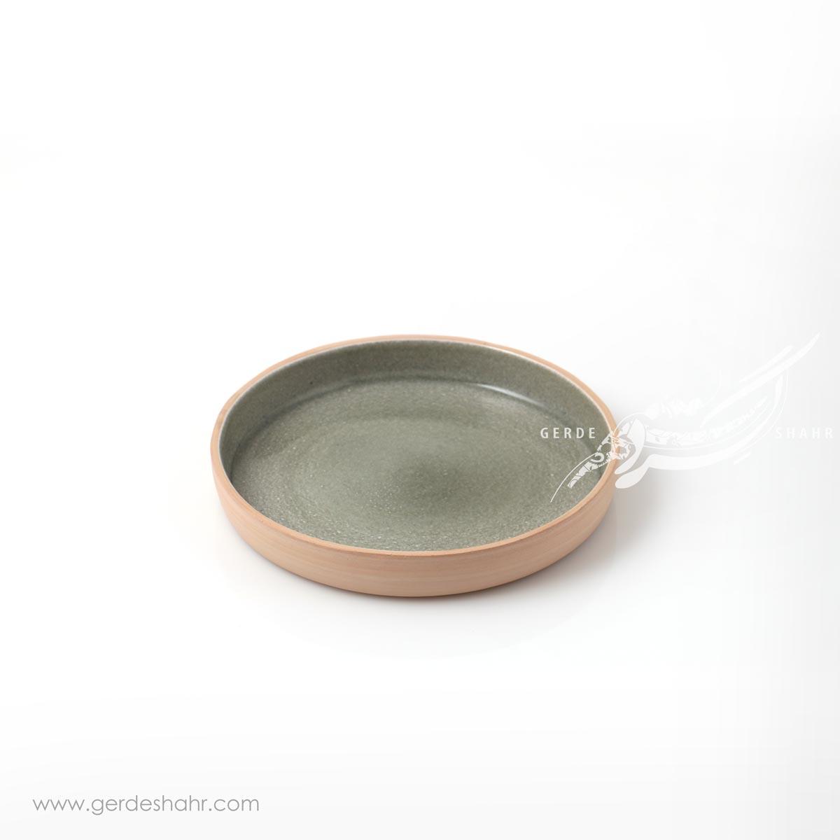 بشقاب متوسط خاکستری زین دست محصولات