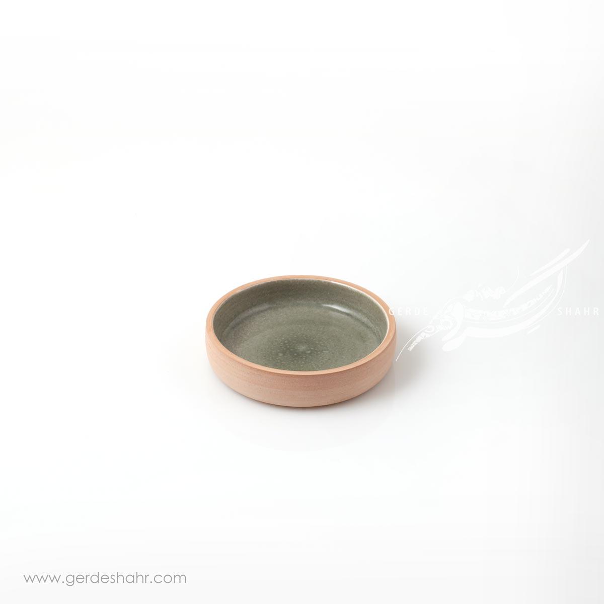بشقاب کوچک خاکستری زین دست محصولات