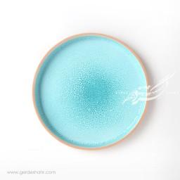 بشقاب بزرگ آبی جزیره زین دست محصولات