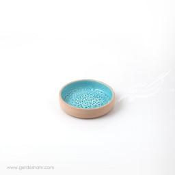 بشقاب کوچک آبی جزیره زین دست محصولات