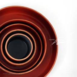 سرویس ظروف سرامیکی قرمز فروردین زین دست محصولات