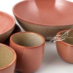 سرویس ظروف سرامیکی گلبهی مرداد زین دست محصولات