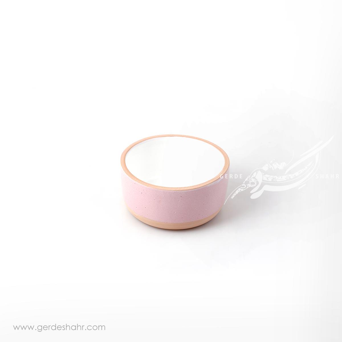 کاسه صورتی روشن زین دست محصولات