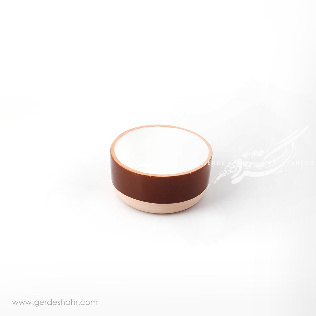 کاسه قهوه ای زین دست محصولات