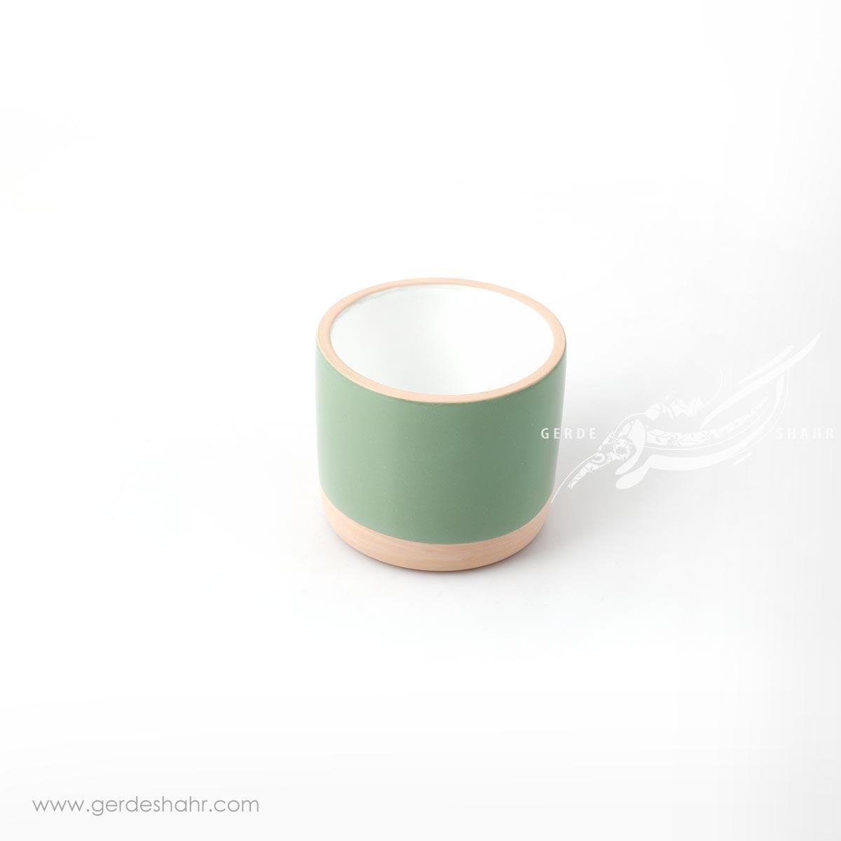لیوان سبز روشن زین دست محصولات