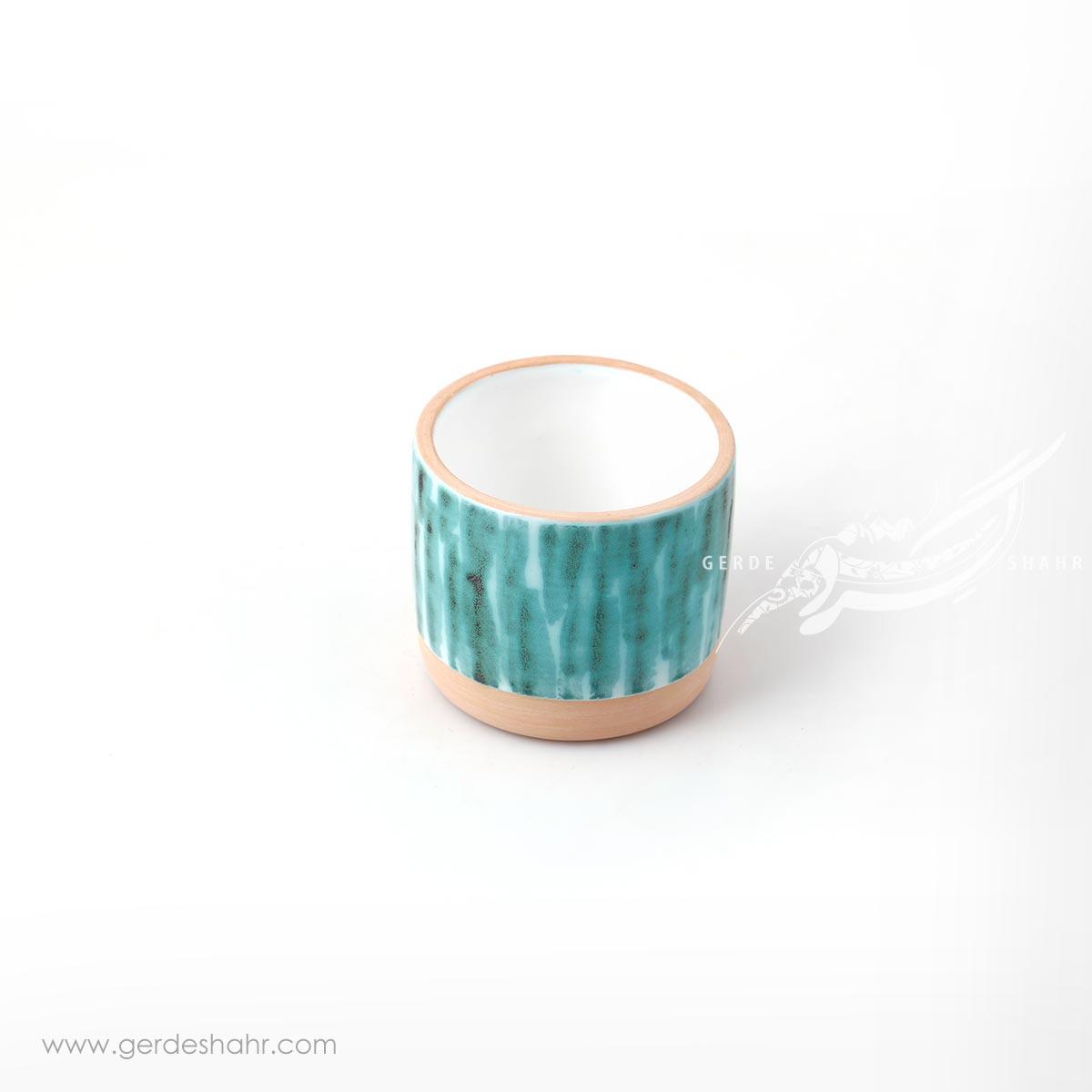 لیوان سبز طرحدار احیایی زین دست محصولات