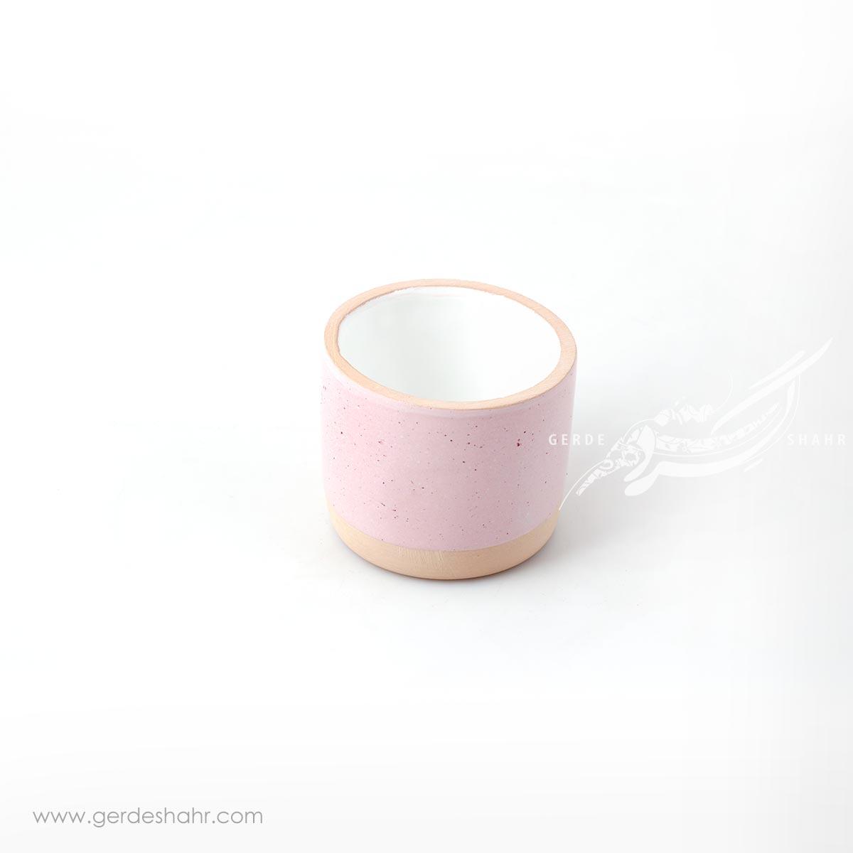 لیوان صورتی روشن زین دست محصولات