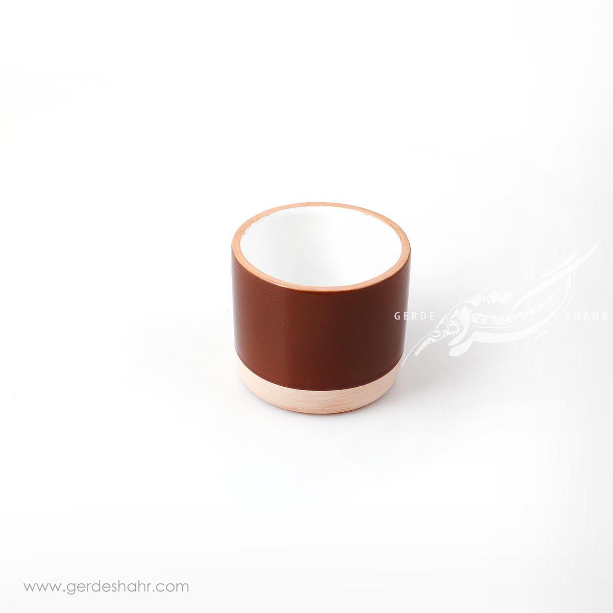 لیوان قهوه ای زین دست محصولات